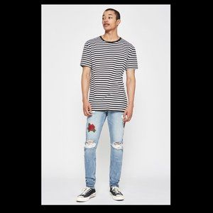 New PacSun Mens Stacked Skinny 32 x 32